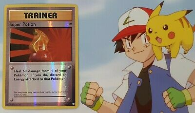 Pokemon 2016 Tcg Trainer Super Potion 87/108 Card From Xy Evolution Reverse Holo