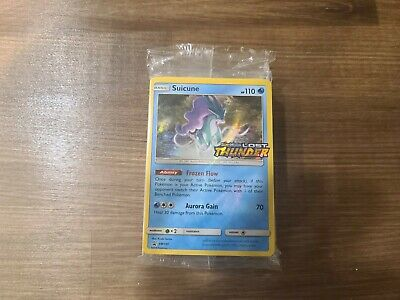 Suicune SM149 Lost Thunder Sealed pre-release pack - English Pokemon Card