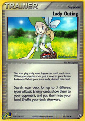 Lady Outing 83/109 Ruby & Sapphire Uncommon Near Mint NM Pokemon DNA GAMES