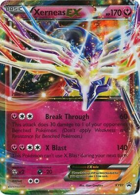 Xerneas EX XY07 XY Promos Holo Rare Heavy Play HP Pokemon DNA GAMES