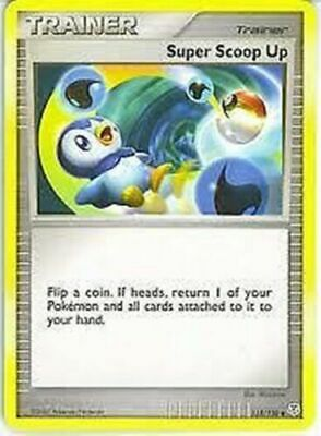 Super Scoop Up 115/130 Diamond & Pearl Uncommon Light Play LP Pokemon DNA GAMES