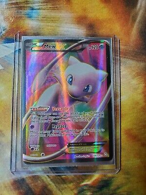 Mew EX - Dragons Exalted (120/124) - Full Art Ultra Rare - LP Pokemon TCG