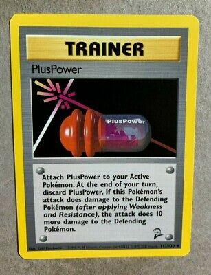 PlusPower 113/130 Base Set 2 - Uncommon Pokemon Card - NM/Mint