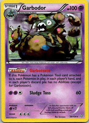 Garbodor 54/124 Holo Dragons Exalted Pokemon Card ~ Near Mint