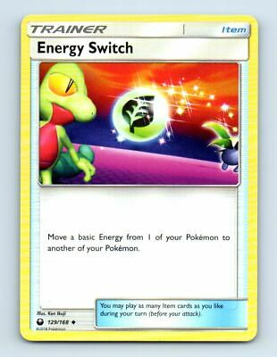 Energy Switch 129/168 Non-Holo SM Celestial Storm Pokemon Card ~ Near Mint