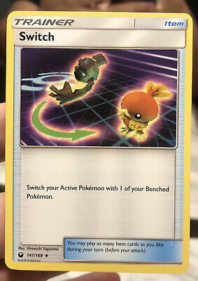Pokemon : SM CELESTIAL STORM SWITCH 147/168 UNCOMMON