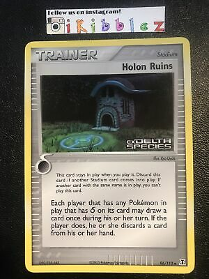 Holon Ruins 96/113 LP Holo Foil Delta Species Stamp Pokemon. Tracked Shipping!