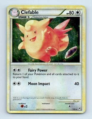 Clefable 1/95 Holo Call of Legends Pokemon Card ~ LP