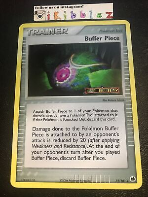 Buffer Piece 72/101 PL+ Holo Dragon Frontiers Stamp Pokemon. Tracked Shipping!