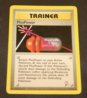 PlusPower 113/130 Base Set 2 Trainer Pokemon NM