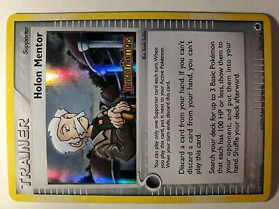 Holon Mentor 75/101 Dragon Frontiers Stamped Holo Uncommon NM Pokemon DNA GAMES