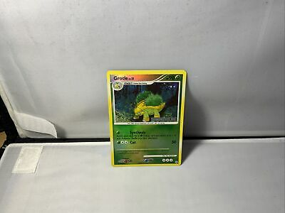 Grotle 49/130 Reverse HOLO Diamond & Pearl Pokemon Trading Card 2007 MINT