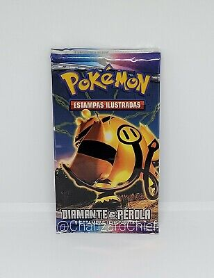 Pokemon Booster Pack Electivire Art - Diamond & Pearl Base Set Spanish Box Fresh