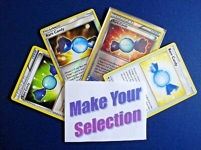 🔥SELECT YOUR RARE CANDY PLAYSET🔥 {x4} Pokemon Item Trainer - HOLO & NONHOLO
