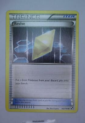Pokemon Card - Revive - 102/114 - Black and White - Excellent