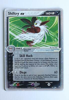 Pokemon Card - Shiftry ex - 97/108 - Power Keepers - Excellent