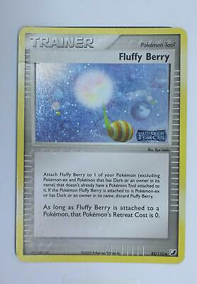 Pokemon Card - Fluffy Berry - 85/115 - Unseen Forces - Reverse Holo - Good