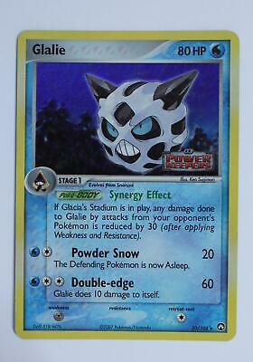 Pokemon Card - Glalie - 30/108 - Power Keepers - Good