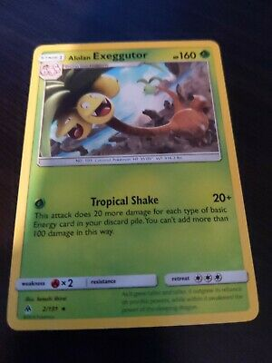 Pokemon Forbidden Light Alolan Exeggutor 2/131