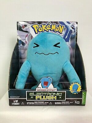 NEW Pokemon Diamond and Pearl Wobbuffet Electronic Plush Doll Collectable