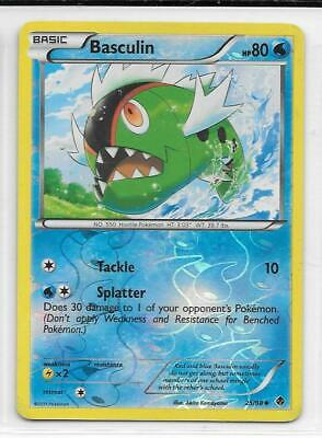 Pokemon --- Basculin --- B/w Emerging Powers!! Reverse Holo!! Mint!! 25/98