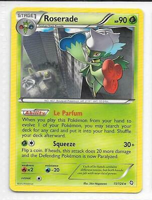 Pokemon -- ROSERADE -- B/W Dragons Exalted! RARE! MINT! 15/124