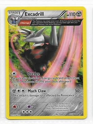Pokemon -- EXCADRILL -- XY Primal Clash! RARE EXTENDED ART HOLO! MINT! 97/160