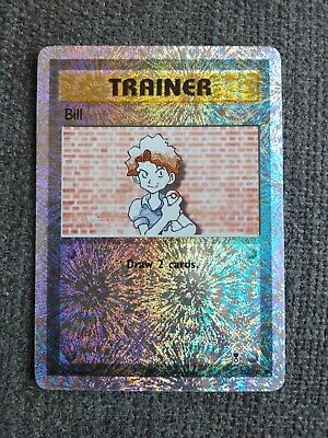 TCG Pokemon Trainer Bill 108/110 Legendary Collection Reverse Holo NM