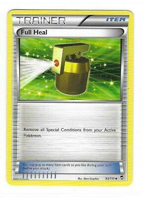 Pokemon --- FULL HEAL --- XY Furious Fists! Uncommon Trainer! MINT! 93/111