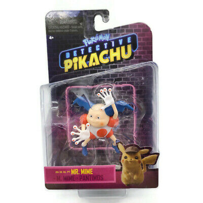 Pokemon Detective Pikachu Mr. Mime Action Figure New Unopened Free Shipping