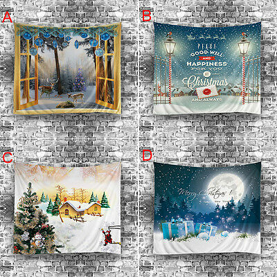 Гобелены Christmas Printing Wall Hanging Tapestry