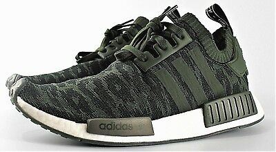6cc55bcc8cb30 ADIDAS NMD R1 PRIMEKNIT NIGHT CARGO / GREEN CQ2445 ORGINALS GLITCH CAMO