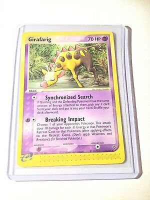 GIRAFARIG -  Ex Dragon Set - 16/97 - Non-Holo Rare - Pokemon Card - NM