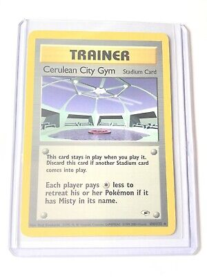 CERULEAN CITY GYM - Gym Heroes Set - 108/132 - Uncommon - Pokemon Card - NM
