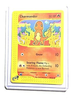 CHARMANDER - 98/165 - Expedition Base Set - Common - Pokemon Card - NM