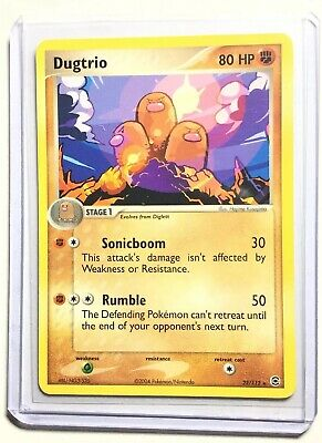 DUGTRIO - 22/112 - FireRed & LeafGreen - Rare - Pokemon Card - NM
