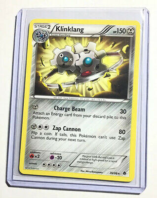 KLINKLANG - 76/98 - Emerging Powers - Rare - Pokemon Card - NM