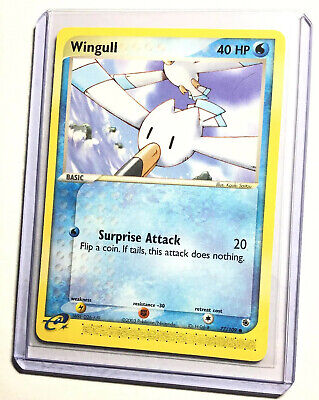 WINGULL - 77/109 - Ruby & Sapphire - Common - Pokemon Card - NM