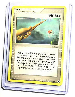OLD ROD - 78/101 - EX Dragon Frontiers - Uncommon - Pokemon Card - NM