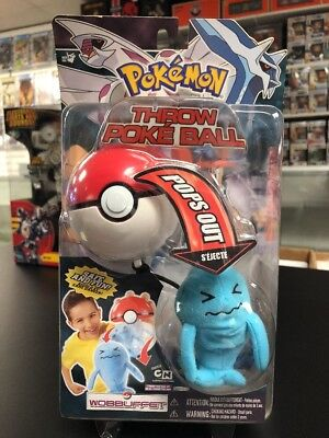 Pokemon Diamond and Pearl Throw Poke Ball Series 2 Wobbuffet CN New NIP Pops Out