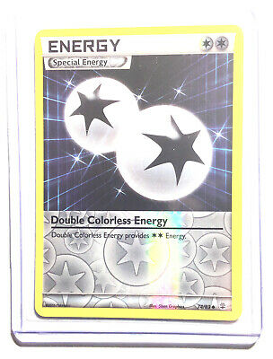 DOUBLE COLORLESS ENERGY - 74/83 - XY GENERATIONS - Reverse Holo - Pokemon - NM