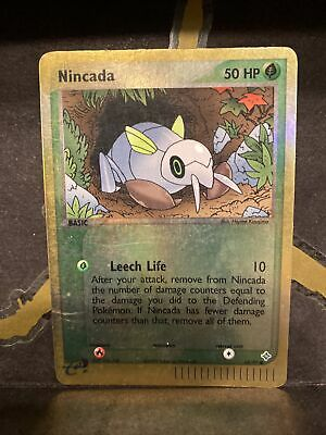 NINCADA 67/97 68/97 Reverse Holo EX Dragon Pokemon Card E Series LP