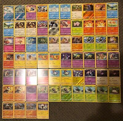 64 SM - Forbidden Light Pokemon Cards - Heatran/Empoleon/Poipole/Torterra/Rotom