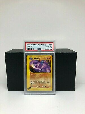 2003 Aquapolis Nidoking #24 - Pokemon Card - PSA 10 - GEM MT