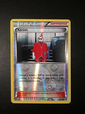 Pokemon Phantom Forces Xerosic Reverse Holo Uncommon Trainer Card 110/119 LP