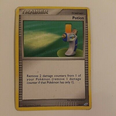 Rare Pokemon Card Trainer Potion 11/12 2007 Diamond And Pearl promotional kit