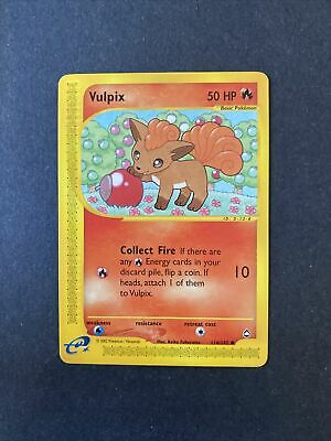 2002 Pokemon Aquapolis Set Vulpix 116 /147 (002)