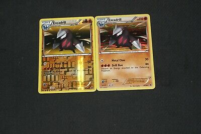 Pokemon Card LP-PL Reverse Holo & Holo Rare Excadrill 56/98 Emerging Powers