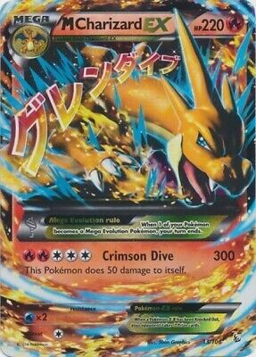 Pokemon TCG - M Charizard EX - 13/106 - Flashfire - Ultra Rare - NM
