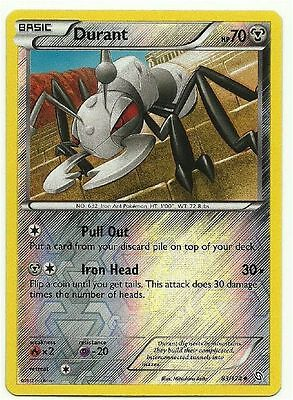 Durant 83/124 B&W Dragons Exalted REVERSE HOLO PERFECT MINT! Pokemon